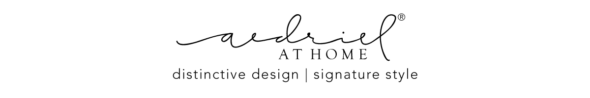 Aedriel – distinctive design- signature style Lifestyle Blog | Design | Shop logo