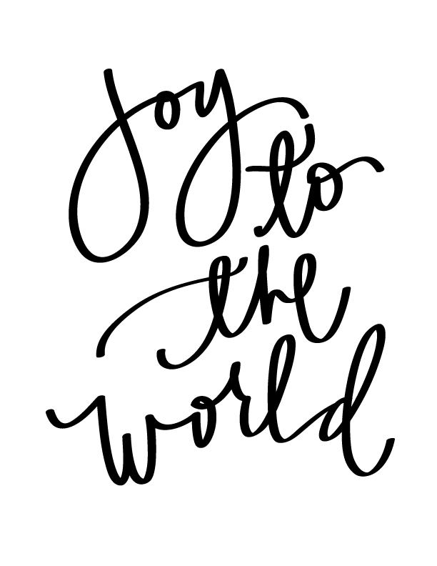Joy The Name Coloring Page