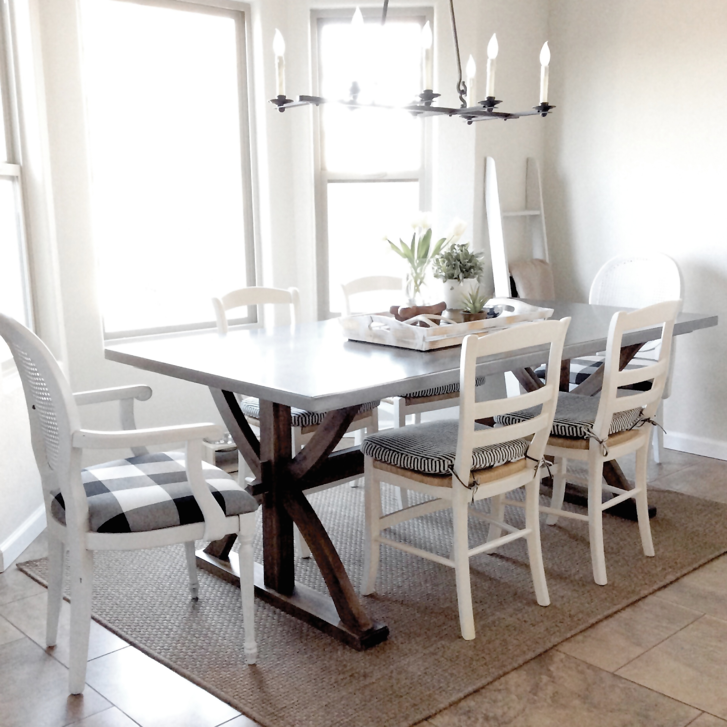 Before & After Aedriel Moxley House Tour : Dining Room