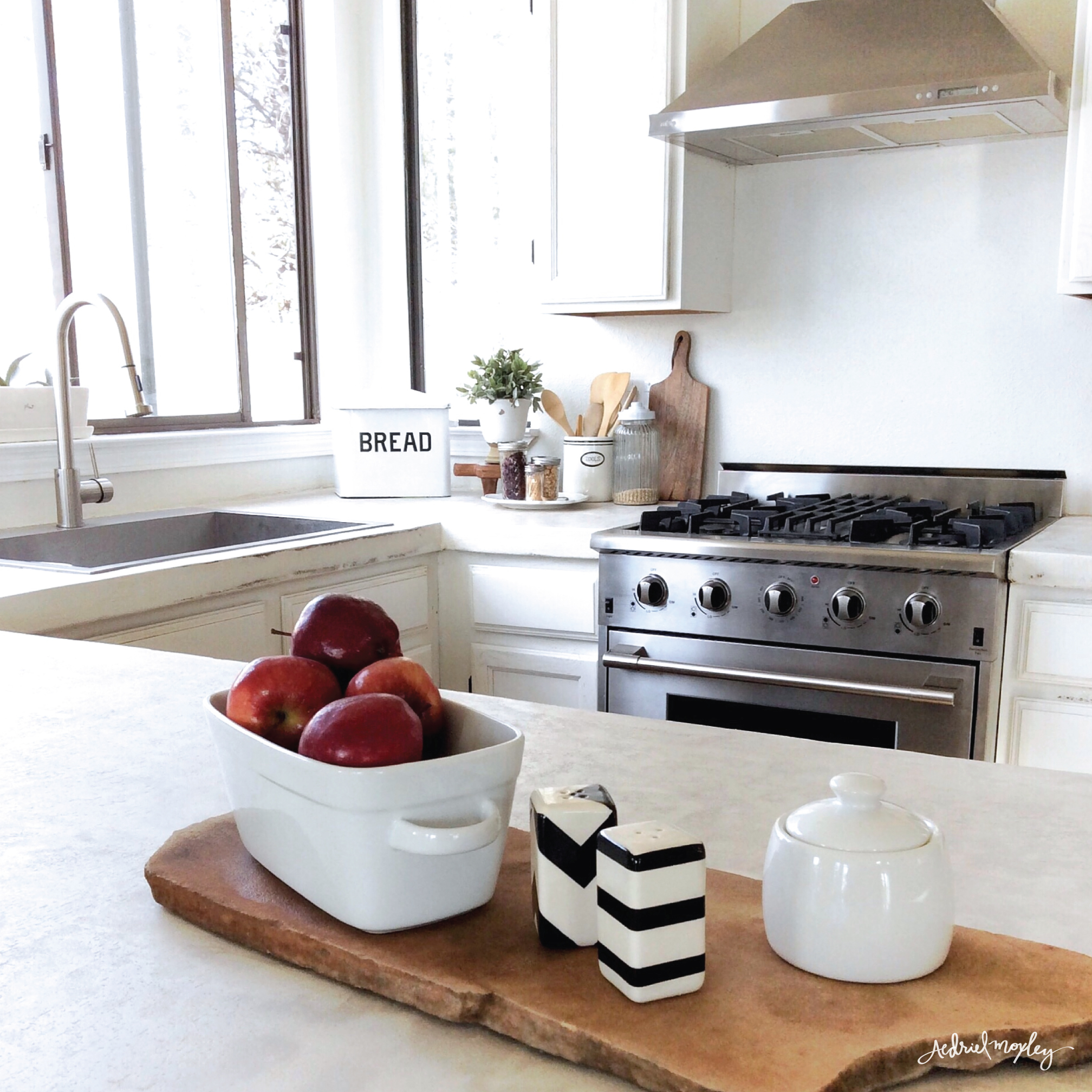 Before & After Aedriel Moxley House Tour: Kitchen