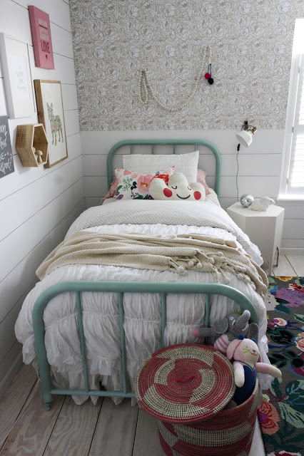The Sweetest Little Girl Room Makeover by House Seven