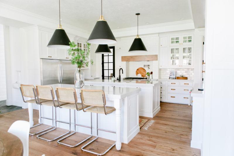 Modern Farmhouse Home Tour Kitchen Dining Living