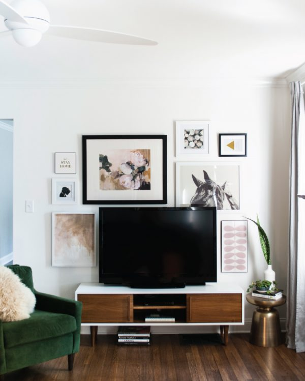 gallery-wall-around-television-room-for-tuesday-600x749