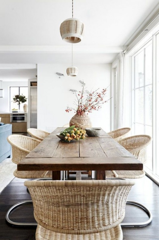 DESIGN TRENDS 2018 WOVEN CHAIRS