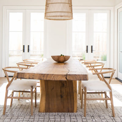 DECOR TRENDS – NATURAL WOOD